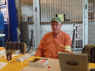 Don at the Front Ticket Table
